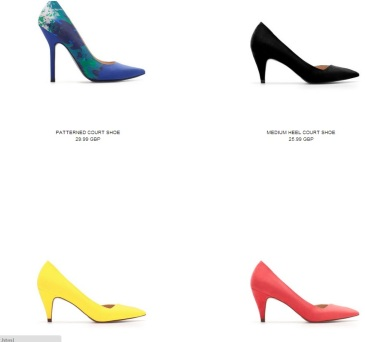 shoes for work from Zara